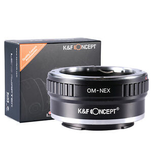 K-amp-F-Concept-adapter-for-Olympus-OM-mount-lens-to-Sony-E-mount-NEX-a5000-A7II