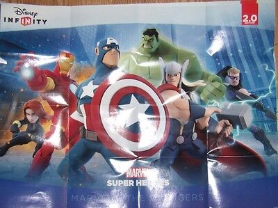 DISNEY INFINITY 2.0 Marvel Heroes Power Disc Complete Your Set You Choose