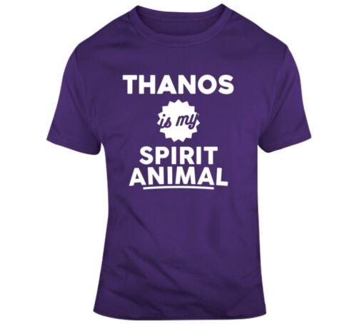 Thanos Is My Spirit Animal T Shirt