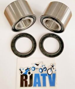 NEW ALL BALLS FRONT WHEEL BEARINGS SEALS FOR 2011-2018 CAN AM COMMANDER 1000 STD