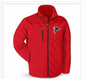 finest selection 6b09f 3d0f8 New NFL Atlanta Falcons Soft Shell Coat Size Large L Four ...