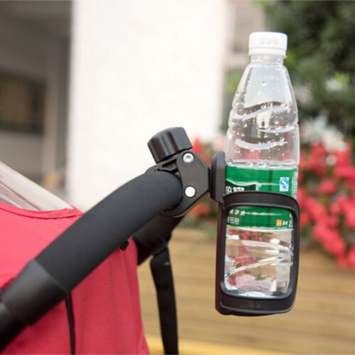 2pc Universal Clip-on Cup Holder Walker//Wheelchair for Elderly No spill