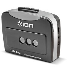 ION Tape 2 Go Digital Conversion Cassette Tape to MP3 Converter and Player