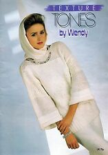 ~ Wendy Knitting Pattern Book ~ 12 Lady's Designs ~