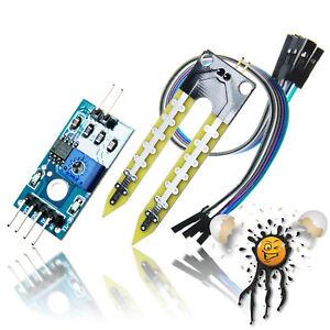 Hygrometer Moisture Sensor Set digital/analog LM393 3,3-5V ESP8266 ESP32 Arduino