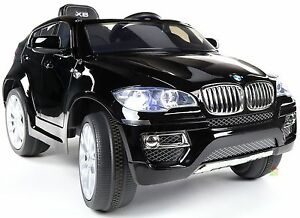 bmw x6 m weiche r der 2x motoren kinderauto. Black Bedroom Furniture Sets. Home Design Ideas