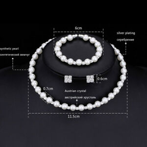 1-set-Pearl-Crystal-Bridesmaid-Wedding-Jewellery-Set-Necklace-Bracelet-Earring