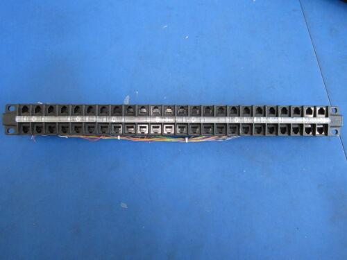 Leviton 48-Port High Density Patch Panel 49255-D48 48 QuickPort USOC RJ11