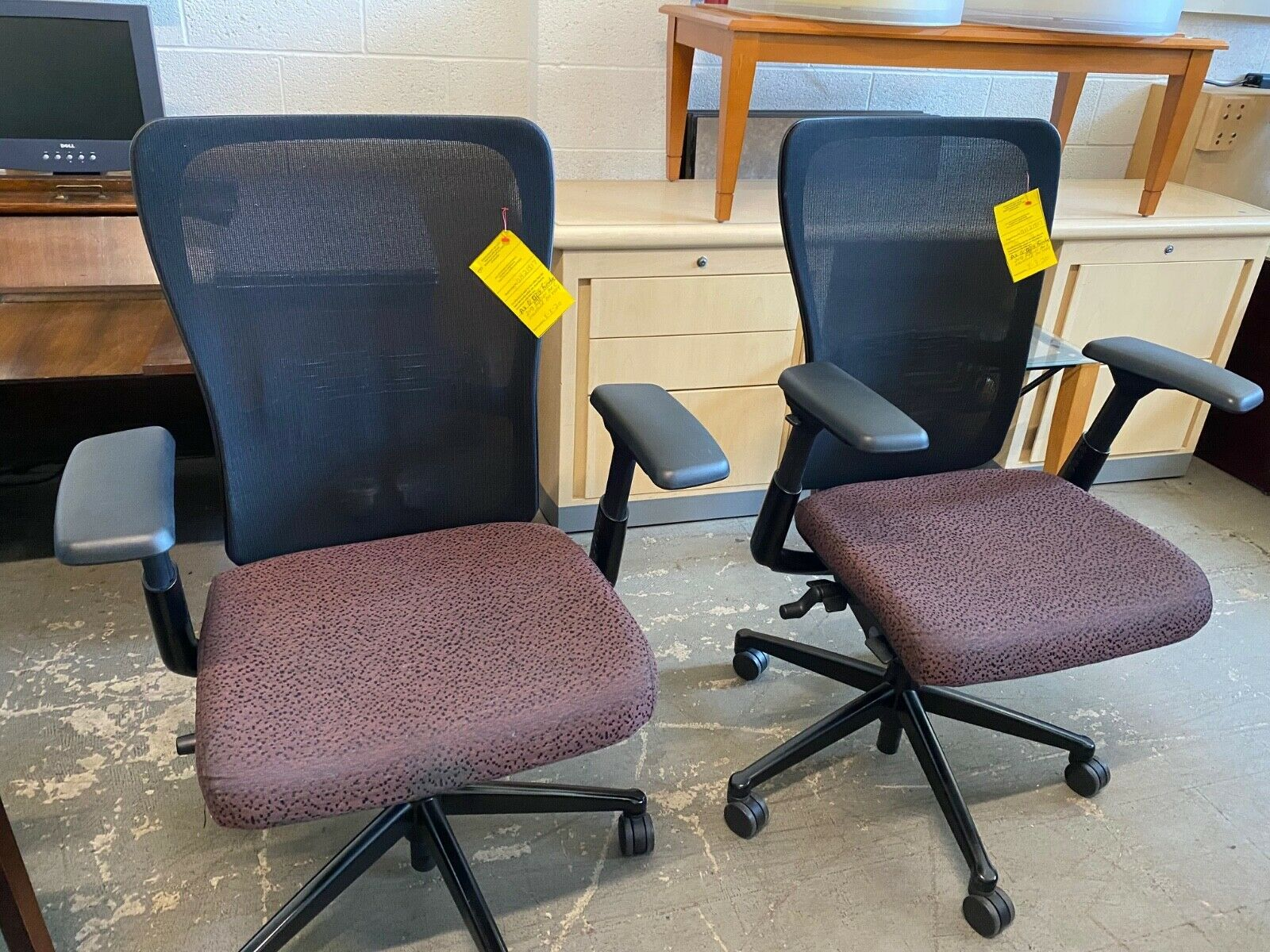 Haworth Zody Executive Task Chair Leather Fully Loaded For Sale Online Ebay