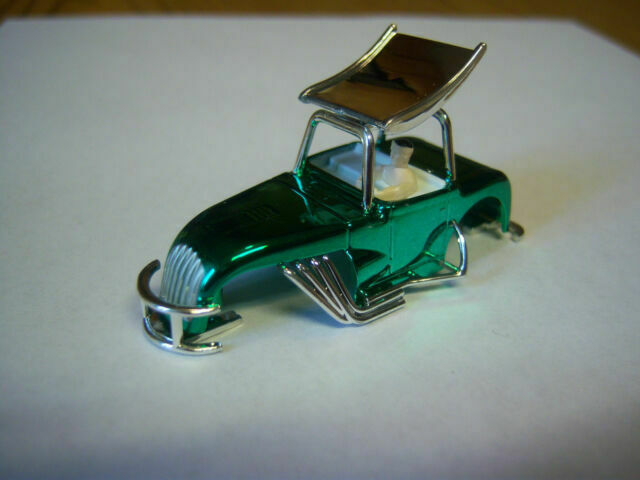 Dash Aw Aurora new Black Camaro body will fit Dash chassis aw tjet or aurora ho