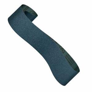 KLINGSPOR-Schleifband-f-Bandschleifer-150-x-2000mm-K40-K80-Auswahl-Zirkon-blau