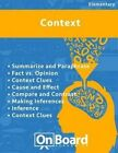 Context: Summarize and Paraphrase, Fact vs. Opinion, Context Clues, Cause and Effect, Compare and Contrast, Making Inferences, Inference, Context Clues by Todd DeLuca (Paperback / softback, 2015)