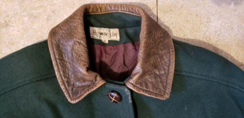 Size Wool Coat 8 Womens Green Kay Herman vRqxEHI