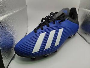 Adidas X 19.4 FXG foot chaussures crampons Homme 6.5 Bleu Royal Homme + livraison rapide