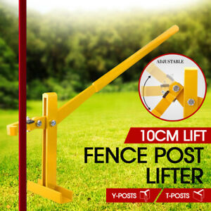 Fence-Post-Lifter-Puller-Star-Picket-Steel-Pole-Remover-Fencing-Farming-Tool-AU