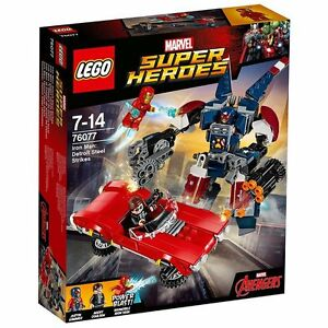 LEGO-Super-Heroes-76077-Iron-Man-Detroit-Steel-Strikes-Brand-New