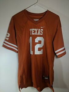 Details about Nike University of Texas Colt McCoy Jersey Size YL Sewn Longhorns Big12 Football