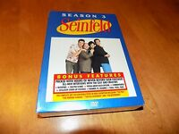 Seinfeld Season 3 Three Jerry Seinfeld 22 Shows Tv Comedy Series Dvd Set