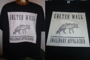 COLTER-WALL-IMAGINARY-APPALACHIA-ALBUM-PRINT-T-SHIRT-BLACK-EXTRA-LARGE