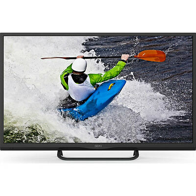 "SEIKI SE32HD01UK Smart 32"" LED TV DVB-T2 Freeview HD Tuner WiFi Black"