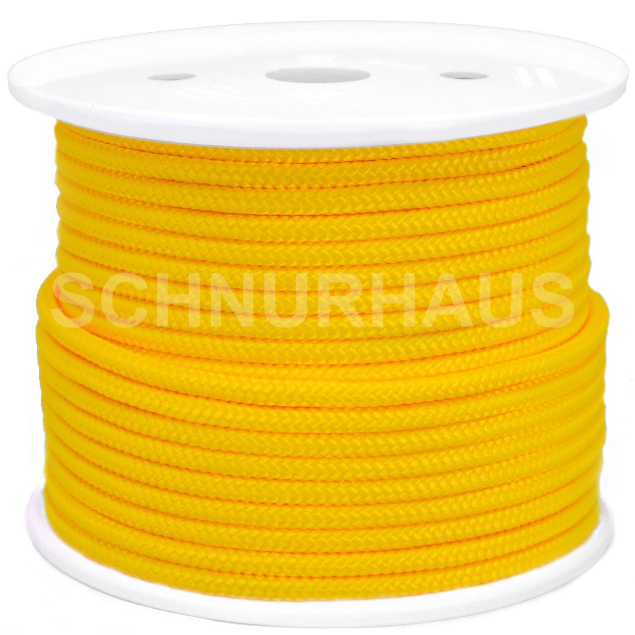 10mm 1500daN Polypropylenseil 50m yellow Schnurhaus Schnur Leine Schot yellow