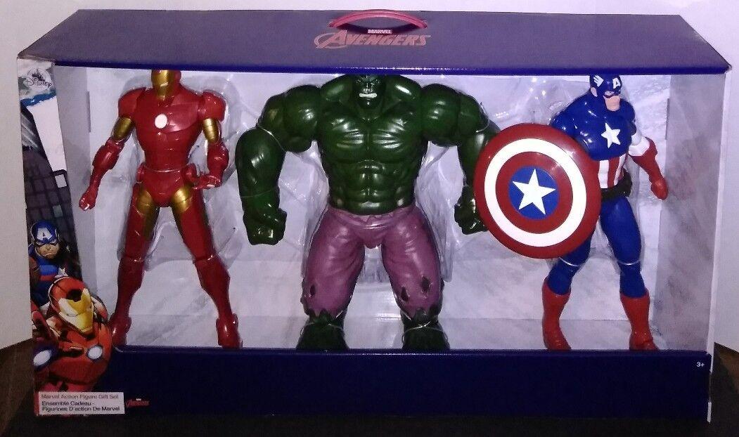 Marvel avengers  iron man  captain america  gerechtigkeit abbildung geschenk 3 setzen