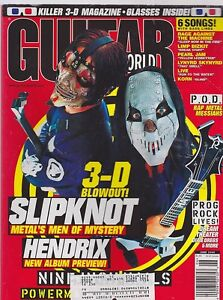JUNE-2000-GUITAR-WORLD-vintage-music-magazine-SLIPKNOT-JIMI-HENDRIX
