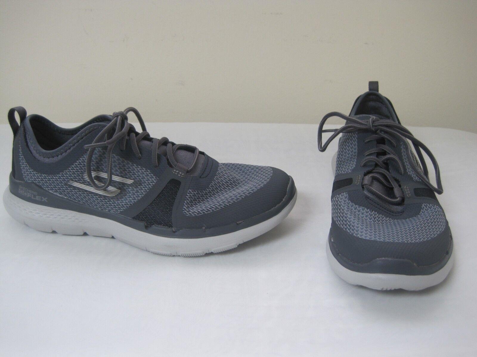 New Women's Skechers Go Flex Train Commit Athletic shoes 14823 Medium CHAR mc 41Q