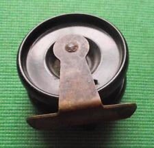 c1930  Bakelite & Brass Early Plastic Fishing Reel