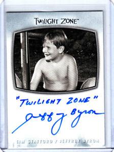 2020 Twilight Zone Archives Inscription Autographs #AI32 Tim Stafford AUTO Byron