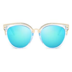 97630469e7 Image is loading Cyxus-Womens-Girls-Classic-Cat-Eye-Polarized-Sunglasses-