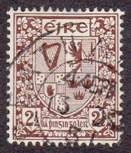 Ireland-1922-SG75-2-d-Brown-Good-used