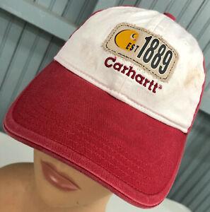 Carhartt-YOUTH-Adjustable-Discolored-Baseball-Hat-Cap