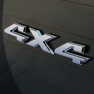 Fuer-Dodge-Ram-Dekorativ-3D-Chrom-Emblem-Aufkleber-Logo-4x4-Firmenschild-Neu