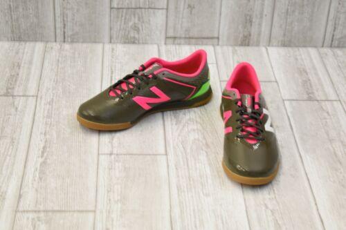 Green//Pink-Choose Size New Balance Kids Furon 3.0 Dispatch Indoor Soccer Shoe
