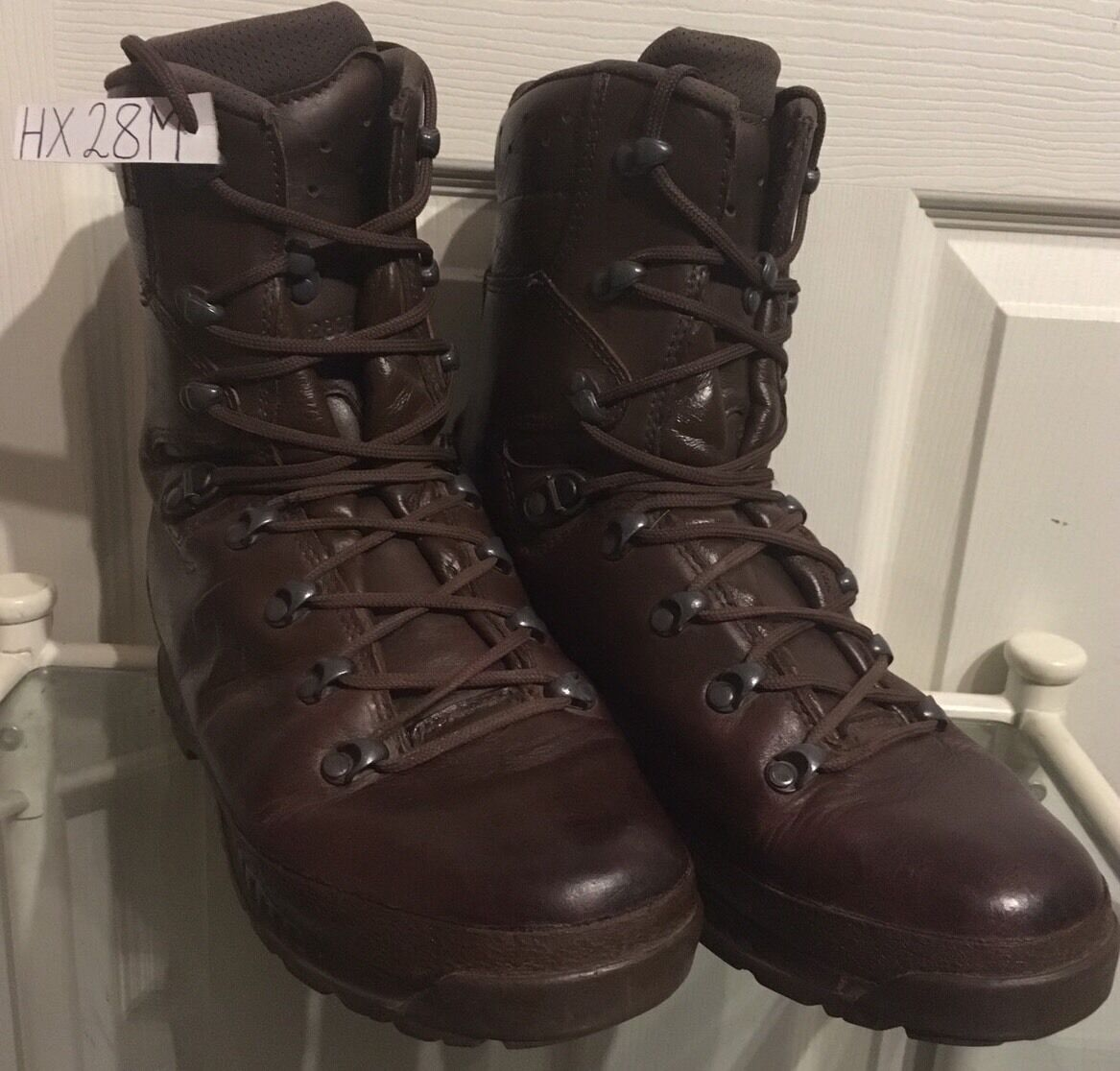 Haix Brown MTP Gore-Tex Waterproof Army Issue Wet Weather Hiking Boots 8M HX28M