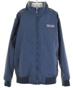MAUI-AND-SONS-Boys-Blouson-Jacket-Size-12-Medium-Blue-Nylon