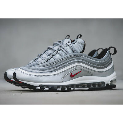 NIKE AIR MAX 97 SILVER BULLET OG BRAND NEW IN BOX ALL KIDS & ADULTS SIZES