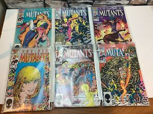 The New Mutants Graphic Novel Issue 42 43 44 45 47 Marvel Comics MINT - BAGGED
