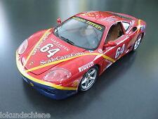 """Ferrari 360 Modena """"van Kampen"""" rot No.64 in 1:18 Bburago 3358#2770"""