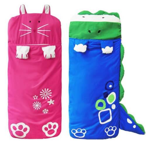 Cartoon Kinder Schlafsäcke Anti-Kicking warme Baumwolle Schlafsack Camping SU