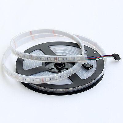 16.4ft 5050 White/Warm White/RGB 300LED SMD Flexible LED Strip Light IP68 DC 12V