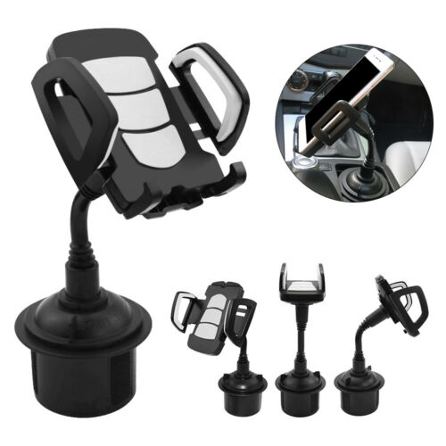 1pc 360° Car SUV Cell phone Smart Cup Holder Stand Cradle Mount For BMW BENZ VW