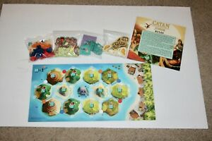 One of Each Replacement Ships and Pirate Lairs Mayfair Games Catan Junior
