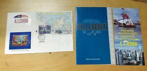 Royal-Selangor-Pewter-Niobium-Stamp-FDC-Millennium-1999-2000-Light-toned-112