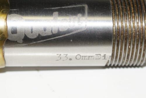 New Qualcut UK  Made 33mm 6 Flute HSS No4300 25mm Screwed Shank End Mill