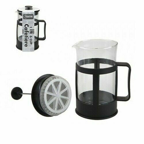 Serving French CAFETIERE coffee maker mixeur presse glass pitcher 2//4//6 tasse