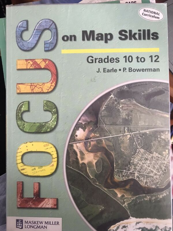 Focus on Map Skills grade 10-12 book
