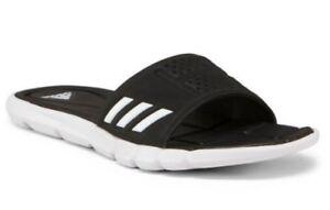 1c4ae9d61 New Adidas Women s Adipure CF Cloudfoam Sandals Slides Black   White ...