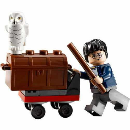 Set 30110 Loose And COMPLETE Lego NEW Harry Potter Trolley No bag